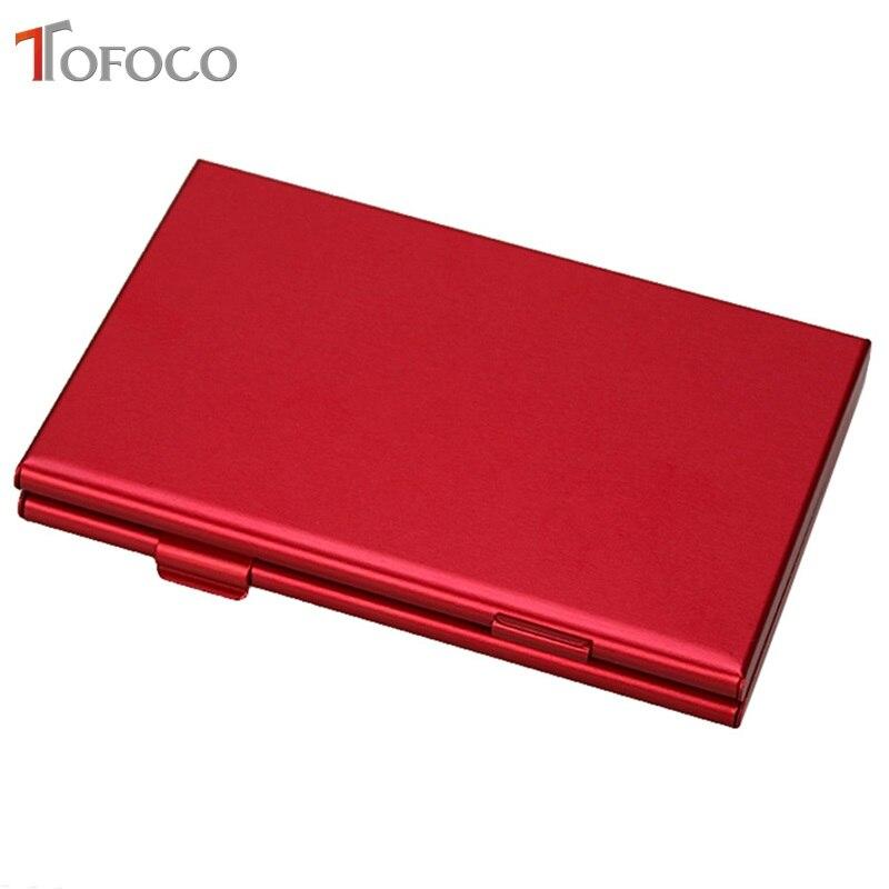 Image 3 - 2017 TOFOCO Aluminium Alloy Micro for SD MMC TF Memory Card Storage Box Protecter Case 4x for SD Card 8 x Micro SIM Card-in Memory Card Cases from Computer & Office
