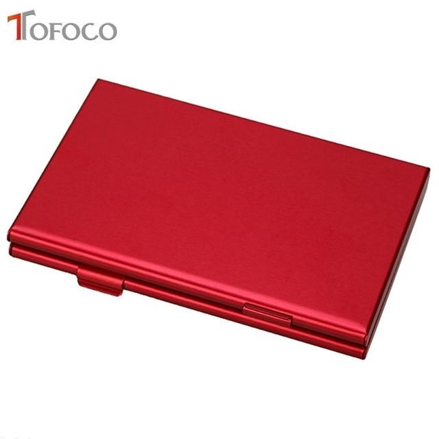 2017 TOFOCO Aluminium Alloy Micro for SD MMC TF Memory Card Storage Box Protecter Case 4x for SD Card 8 x Micro SIM Card 2