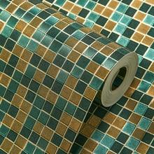 цена на European KTV mosaic glitter wallpaper for walls 3 d papel de parede 3D Wall Paper Mural Flower Wallpaper roll contact-paper