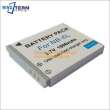 Nb6l nb-6l nb-6lh батарея цифровой для canon power-shot камер sx520 hs SX530 SX600 SX700 SX610 SX710 IXUS 85 95 200 210 105