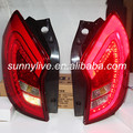 2011-2013 Year For Ssangyong Korando C LED Tail Lights Tail Rear Lamps