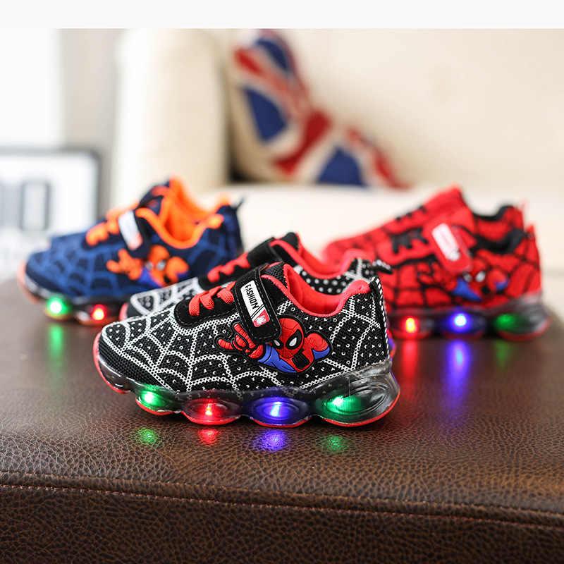Spring Spiderman Children Shoes