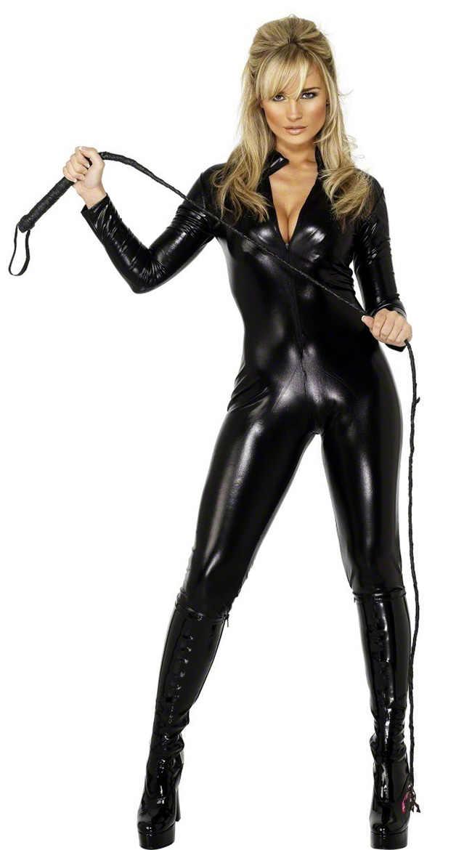 90344ee3ac Spandex Wet Look Vinyl Catsuit Faux Leather PVC Bodysuit Nightclub DS  Costume