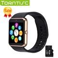 Gt08 torntisc venta caliente bluetooth smart watch smartwatch androide sim aptitud para ios android teléfono pk tarjeta U8 DZ09 gd19 gv18