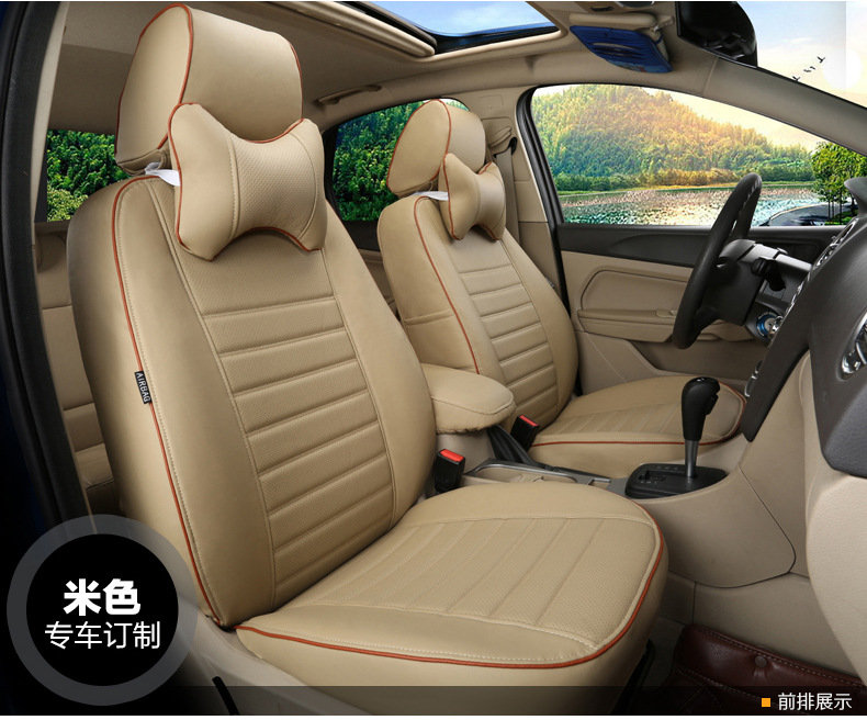 TO YOUR TASTE auto accessories custom leather new CAR SEAT COVERS for Nissan Blue bird-Lannia MAXIMA KICKS Paladin NV200 Pick-up