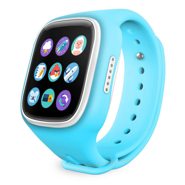 Teamyo Wi-Fi GPS Location Kids Smart Watch Baby Wristwatch SOS Call Finder Locator Tracker Anti Lost Smartwatch for Children
