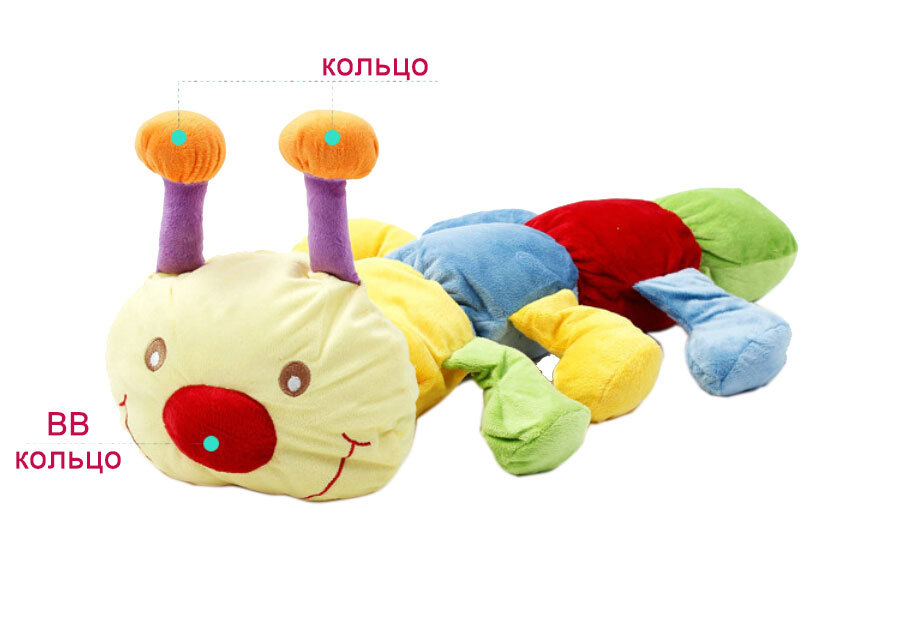Baby-Toy-Gym-Mat-Play-Rug-Musical-Carpet-Children-Caterpillar-2