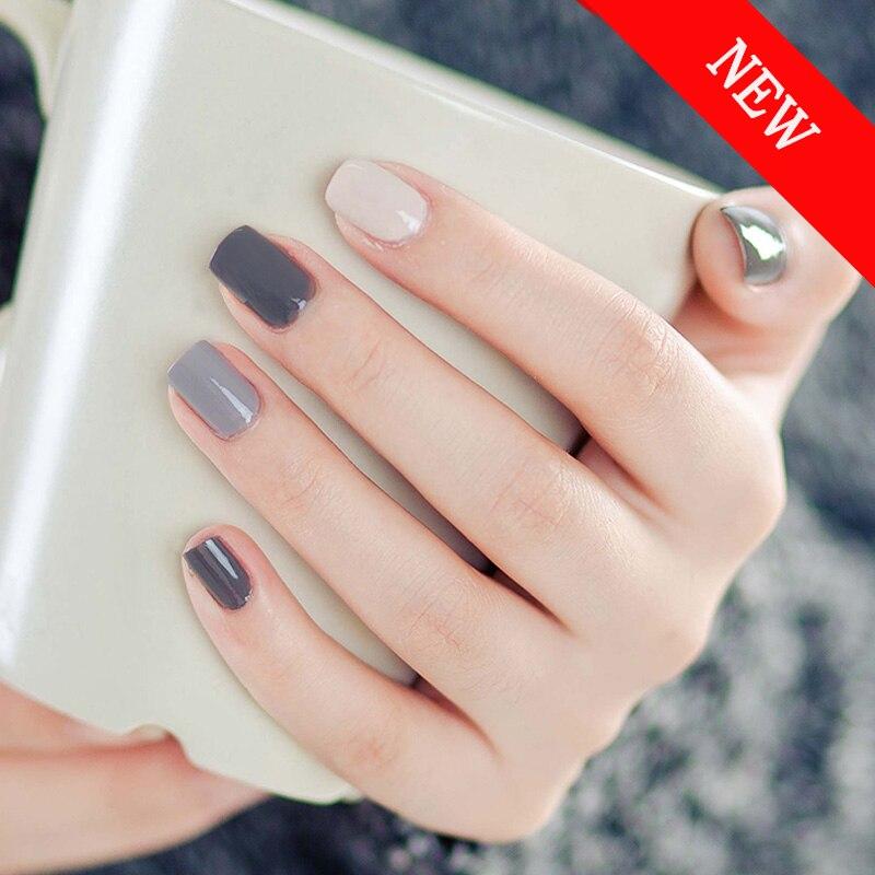 6PCS Professional French Manicure Gel Nail Polish Set Beauty Nail ...