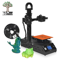 2018 new TT 1s mini Windows 3D printer Fully Assembled supplied with 0.3kg consumables in random colors