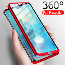 Luxury 360 Full Cover Phone Case For Huawei P20 P30 Mate 20 Lite Pro Shockproof Cover For Honor 8X 9 10 Lite 20 Pro Fundas Capa(China)