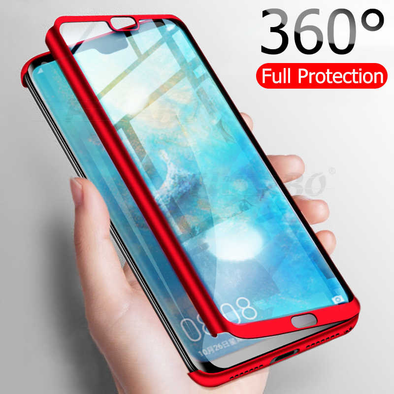 Luxury 360 Full Cover Phone Case For Huawei P20 P30 Mate 20 Lite Pro Shockproof Cover For Honor 8X 9 10 Lite 20 Pro Fundas Capa
