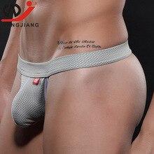 WJ Sexy Gay Men Underwear Mens Thongs And G Strings Jockstrap Erotic Smelting For Tanga Hombre