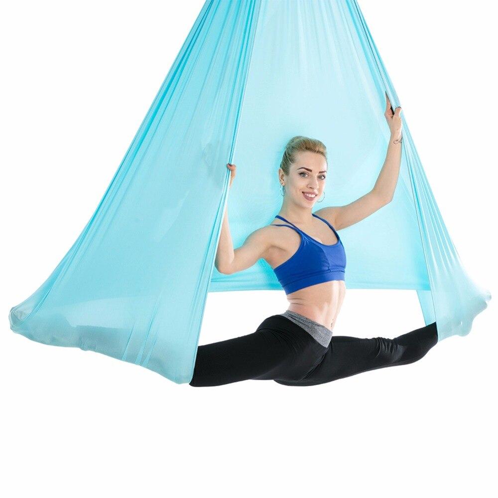 Antena voladora Yoga Hamaca Anti-Gravedad Cinturones de oscilación - Mueble - foto 2