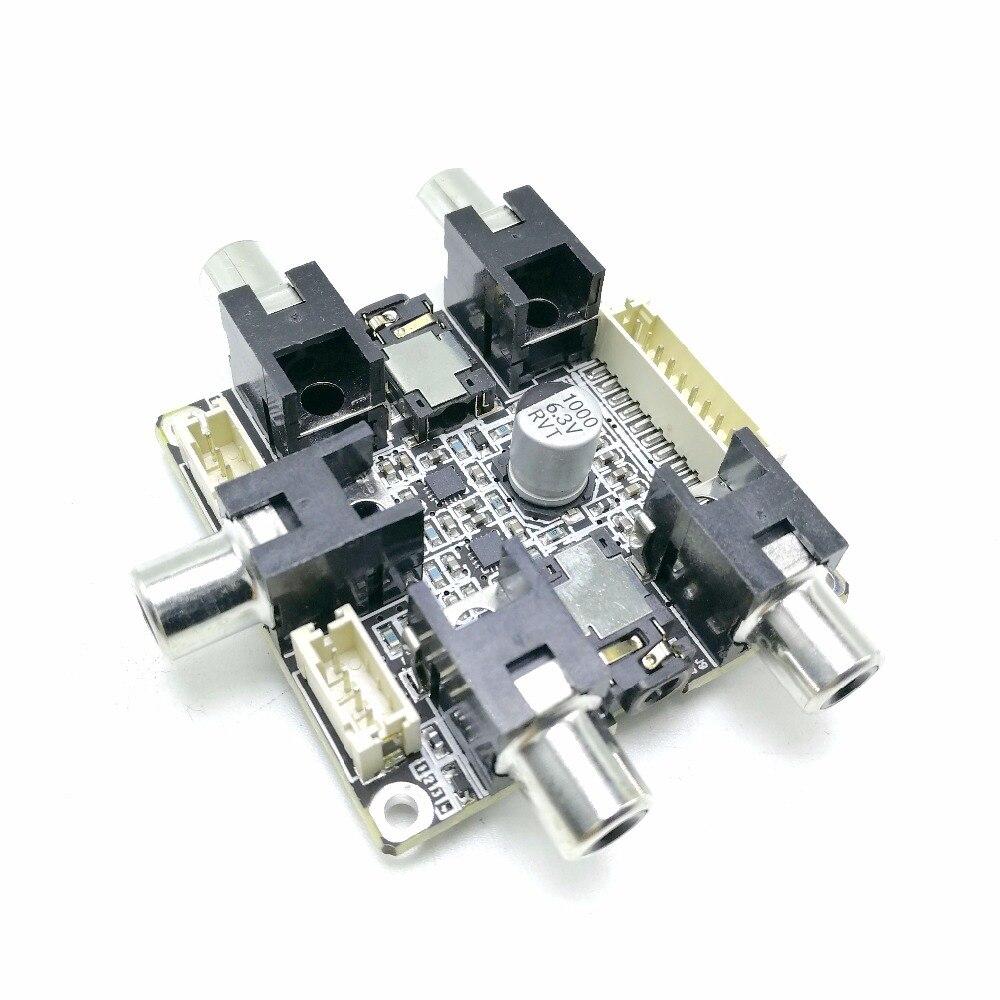 Amplifier Adau1701 2.1 Dsp Professional Audio Digital Processing Unit Dsp Pre-amp Tone Plate Volume Control Board T0499 Home Audio & Video