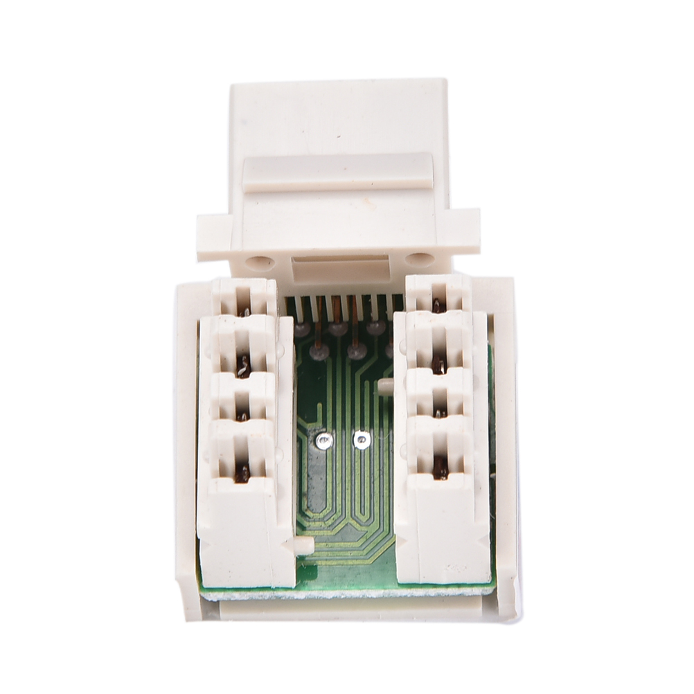 Utp Rj45 Connector Cat6 Module Information Socket Computer Outlet Wiring Keystone Jack Baru Punch Down Jaringan Ethernet Modul