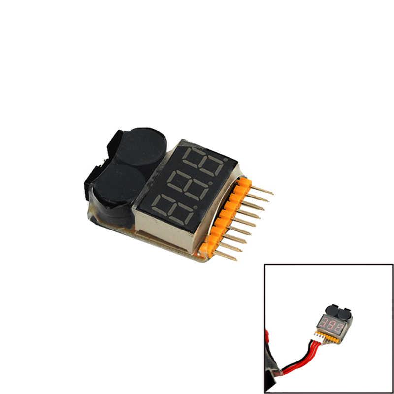 Comprobador de voltaje de batería HOTRC 1-8 S Lipo/alarma de bajo voltaje/comprobador de voltaje para modelo RC