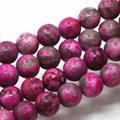 4mm 6mm 8mm 10mm 12mm 14mm Venta Caliente Loco Ágata Piedras Jasper granos Flojos Redondos DEL Jade de BRICOLAJE Joyería Que Hace Los Regalos de Navidad
