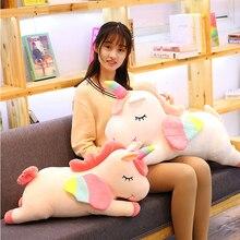 מערבי מיתוס Pusheen גדול בפלאש צעצועים רך ממולא בפלאש בובת Unicorn עם כנפי רך כרית ילדה יום הולדת מתנה Licorne