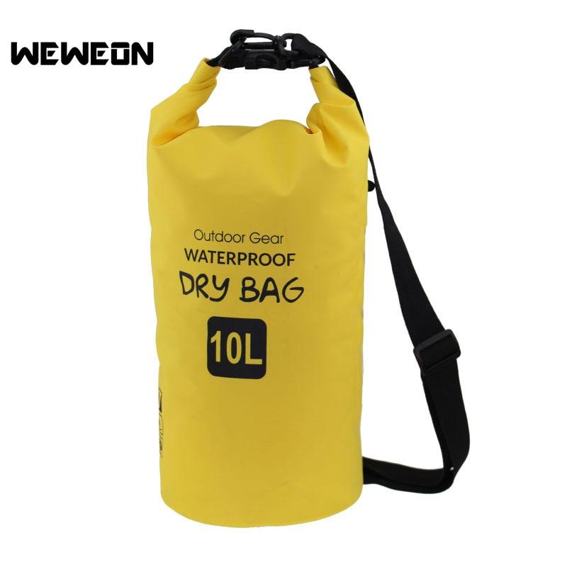 Outdoor PVC Waterproof Dry Sack Storage Bag Rafting Sports Kayaking Canoeing Swimming Bag Tarpaulin River Trekking Bags