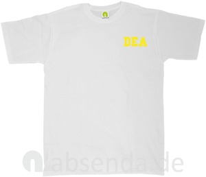 Image 5 - Dea Drug Enforcement Agancy Escobar Chapo Police T Shirt Neu 2019 New Cotton Short Sleeves Hip Hop O Neck Casual Cotton T Shirt
