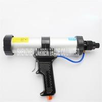 New Arrival 310ML Hard Glue Sealant Gun Sausage Type Pneumatic Caulking Gun Glass Glue Gun Silicone