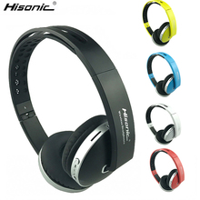 Hisonic Bluetooth Headset Wireless Headphones Stereo foldable Sport Earphone Microphone Gaming Cordless Auriculares Audifonos цена