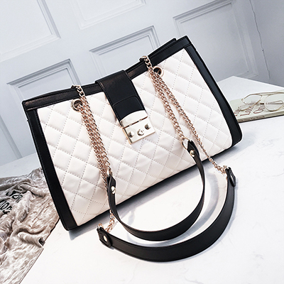 d3cfcc641f Travel big bag 2018 luxury handbags women bags designer Lingge chain  shoulder Messenger fashion women s handbags bolsa feminina-in Shoulder Bags  from ...