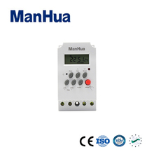 Manhua new product 12v 220v automatic programmable school bell timer