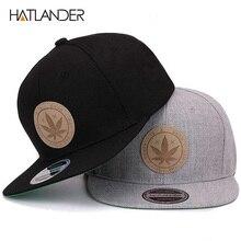 [HATLANDER] кленовые однотонные хлопчатобумажные бейсболки, женская кепка с плоским козырьком в стиле хип-хоп, уличная бейсбольная кепка Bone gorras, мужские кепки и головные уборы
