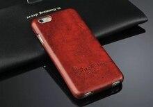Bao Da Chính Hãng Đứng Bao Da Flip Cover Dành Cho iPhone 6 6S Thời Trang Coque Thương Hiệu Ban Đầu Fundas Có Quà Tặng Màn Hình tấm Bảo Vệ