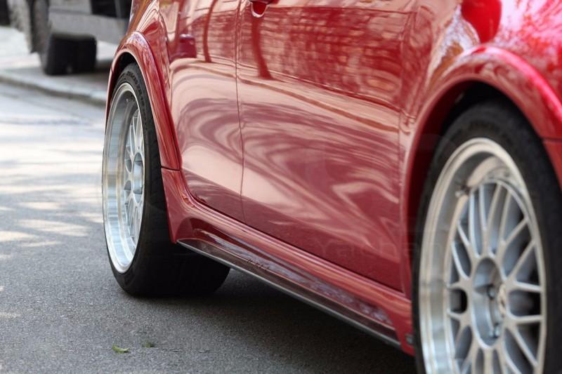 2009-2012 VW Golf MK6 GTI R20 Revozport RAZOR Style Fender Flare (8 Pcs) FRP (9)