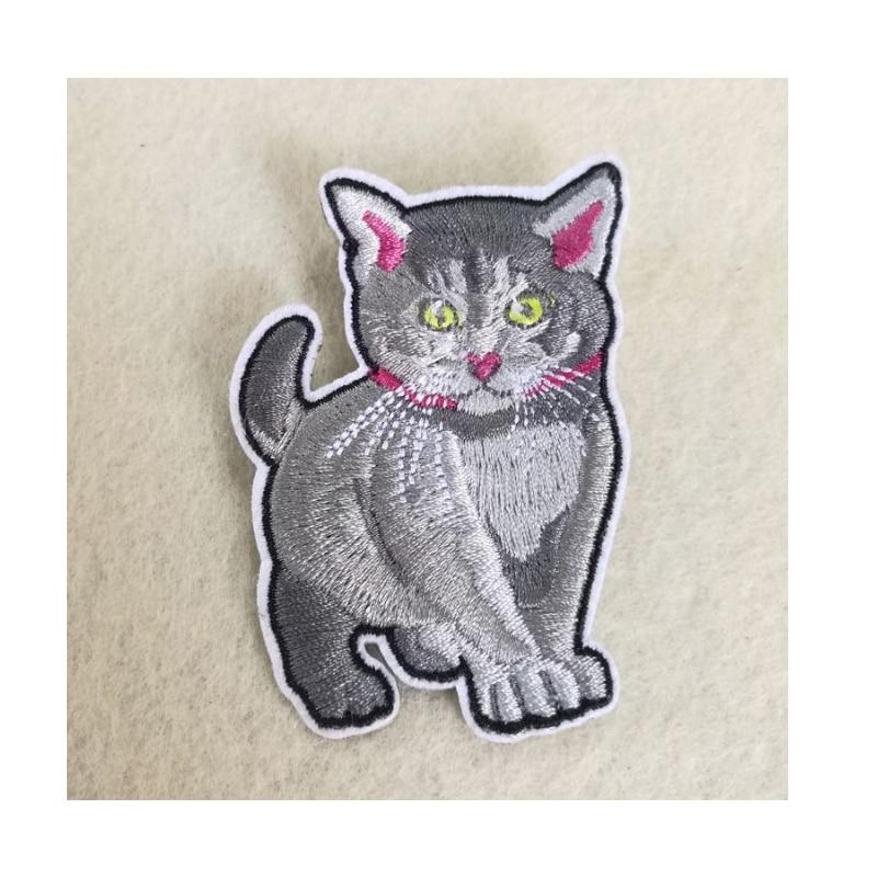 Parches de gatos encantadores de alta calidad de hierro en o coser - Artes, artesanía y costura