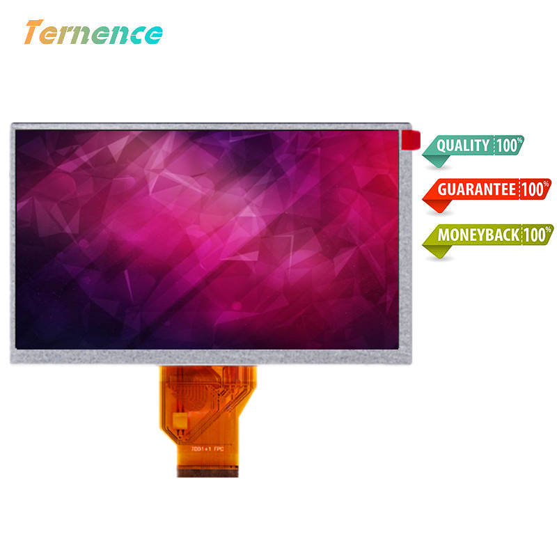 Skylarpu 7''inch TFT lcd display LCM for Innolux AT070TN90 V.1 800*480 resolution thickness 5mm TFT for Car DVD LCD screen 10 4 inch tft screen for b1048n01 800 600