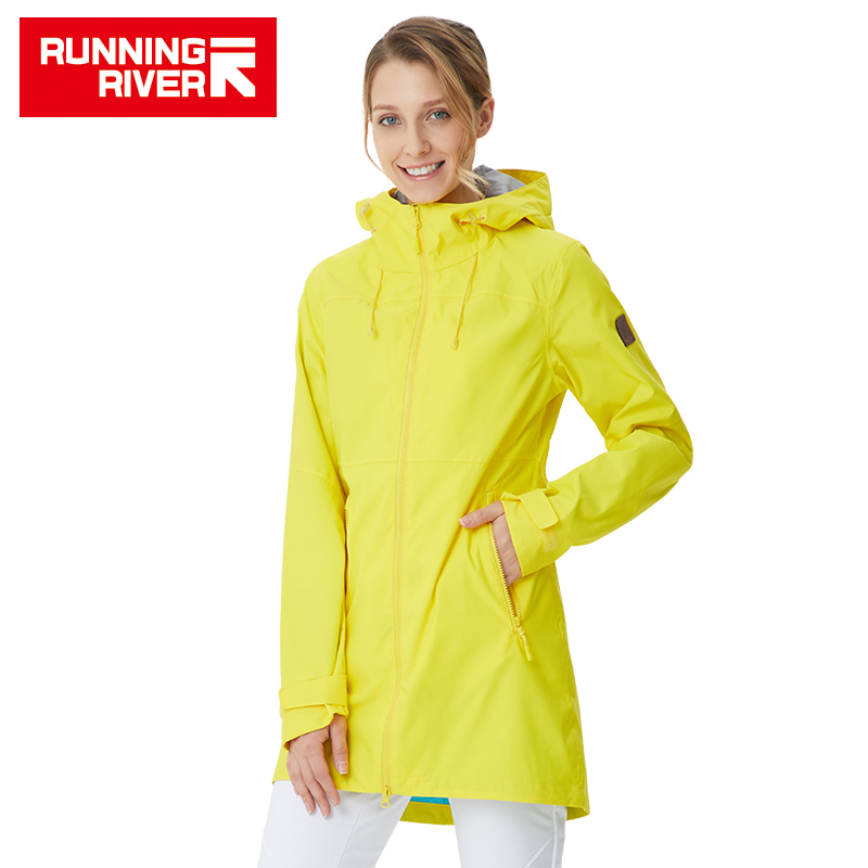 RUNNING RIVER Brand Women Hiking Jacket 4 Colors Size 36 - 46 High Quality Waterproof Jacket For Woman Outdoor Clothes #K8361