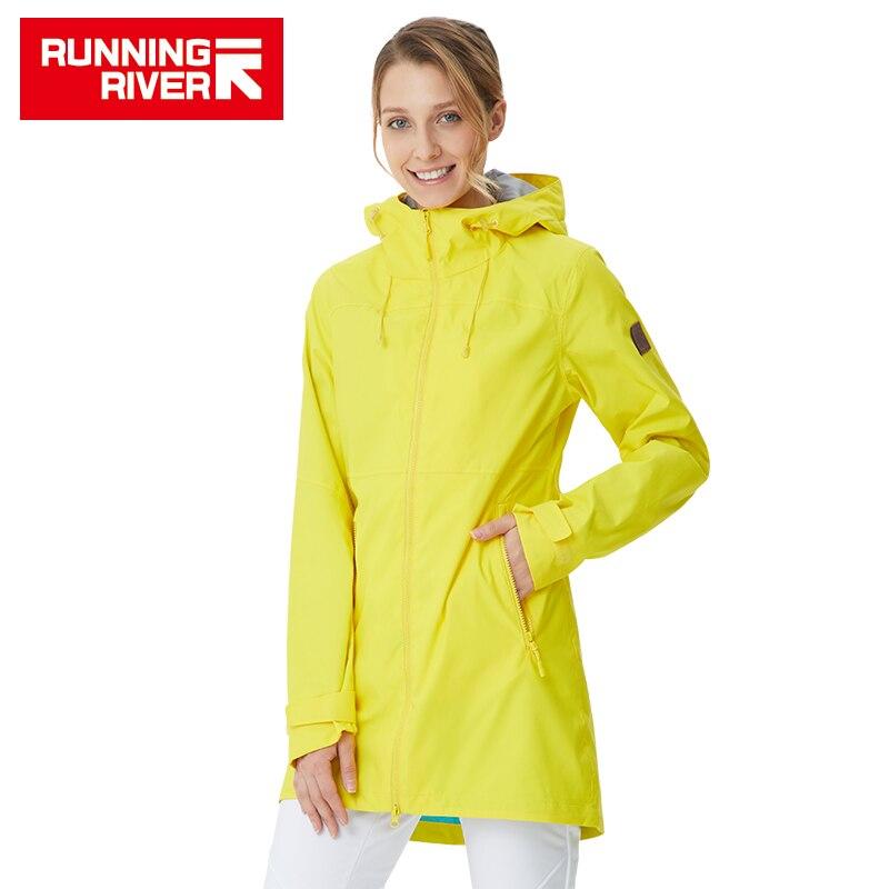 RUNNING RIVER marque femmes veste de randonnée 4 couleurs taille 36-46 haute qualité imperméable veste pour femme vêtements de plein air # K8361