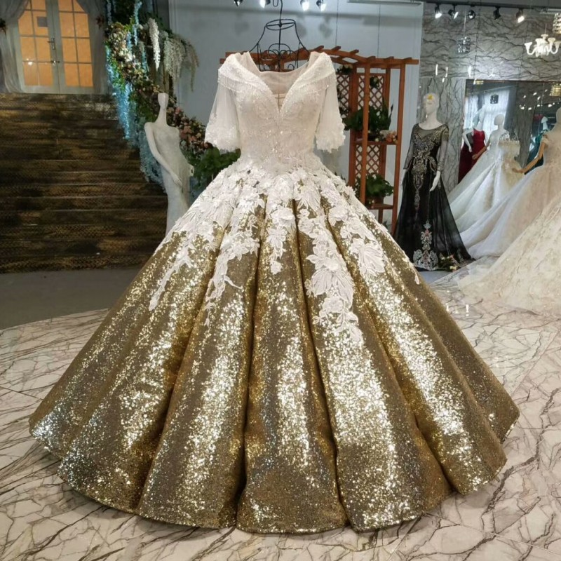 Beautiful Wedding Ball Gowns: Beautiful Sparkling Ball Gowns Wedding Dresses 2019 Corest