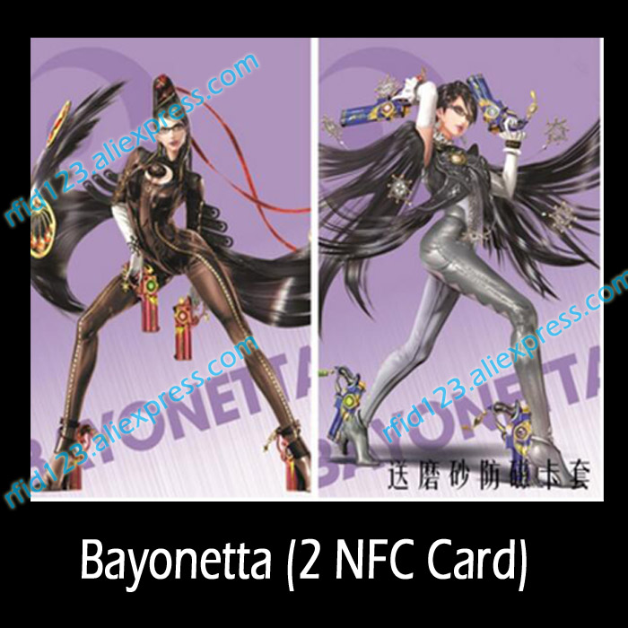NTAG215 Card with Printing Work for Switch Bayonetta 2pcs