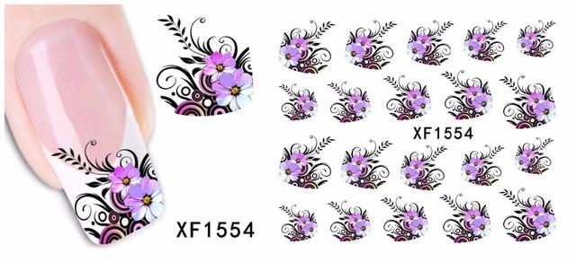 Pretty Flower Nail Art Stickers