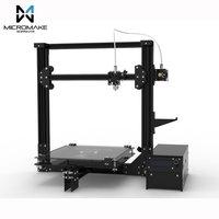 Micromake 3D Printer Large Printing Size 245*245*260mm Micromake C1 Metal Sheet/Arcylic H botXZ Structure DIY Kit