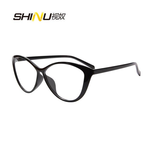 7bb026445e0 Top Fashion Cat Eye Progressive Multifocal Lens Reading Glasses Ladies  Women Near  Far Sight Eyeglasses Ultralight TR90 Eyewear-in Reading Glasses  from ...