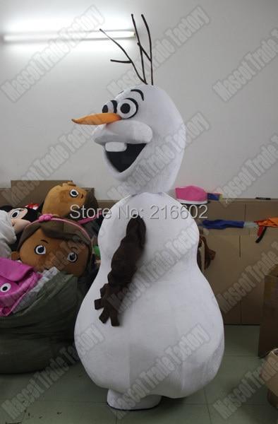 """Aukštos kokybės """"Olaf"""" talismano kostiumas Suaugusio dydžio """"Olaf"""" talismano kostiumas Nemokamas pristatymas"""