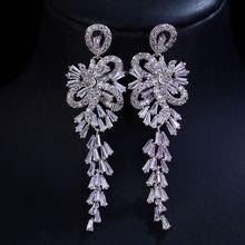 Bilincolor модные Кристальные cz Роскошные элегантные свадебные