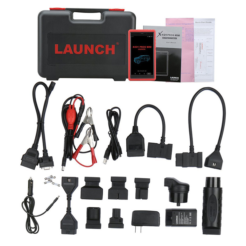 Image 5 - LAUNCH X431 Pros Mini Auto diagnostic tool Support WiFi Bluetooth Full system X431 Pro Mini Car Scanner 2 years free update scan-in Engine Analyzer from Automobiles & Motorcycles