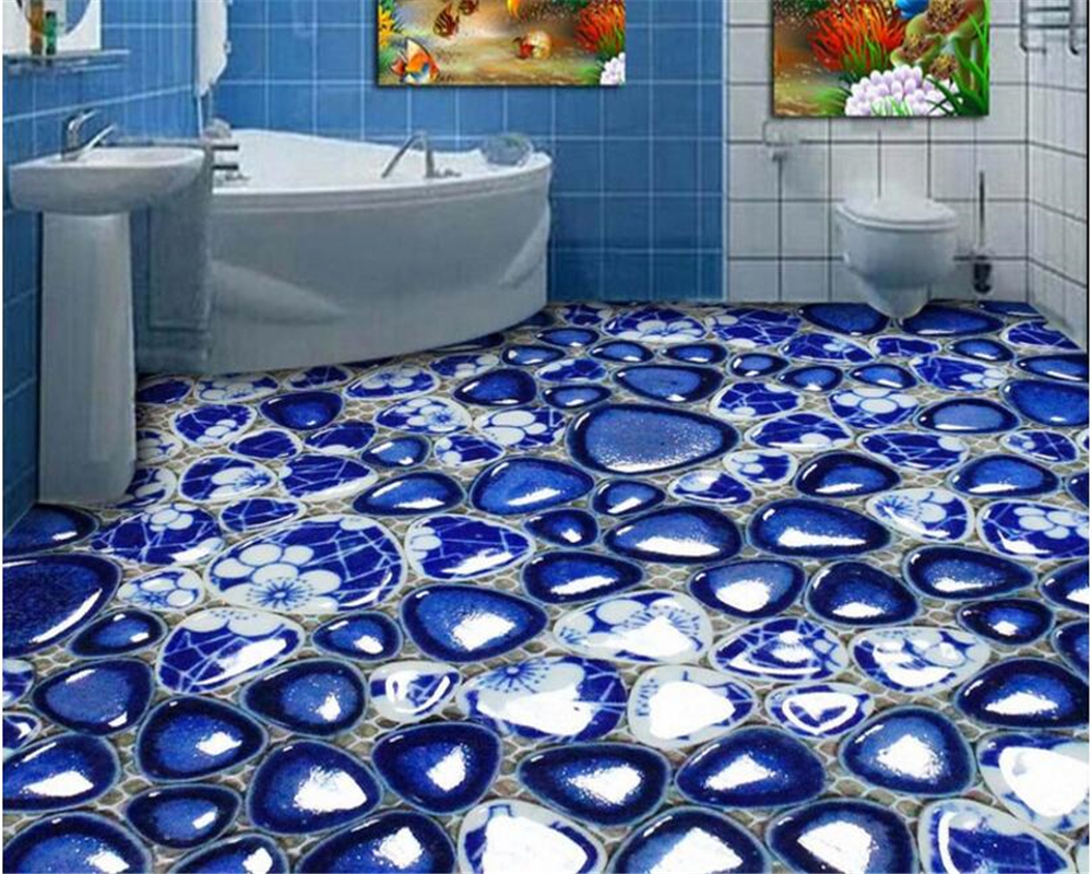 Beibehang papel de parede classico della moda carta da parati bagno