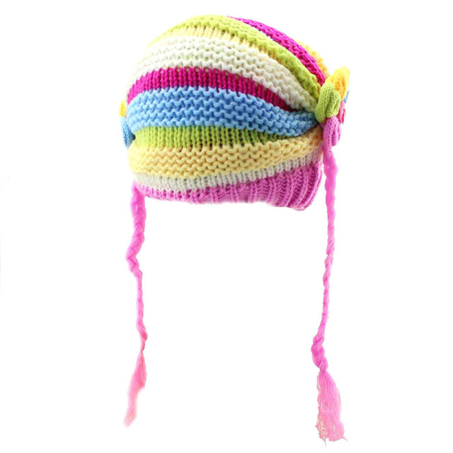 5 piezas lindo bebé sombrero niños invierno sombreros para las ...