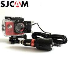 SJCAM мотоциклетные Водонепроницаемый чехол для SJ5000/SJ4000 Серии Cam зарядки shell для sj cam SJ5000X Elite Action Камера аксессуары