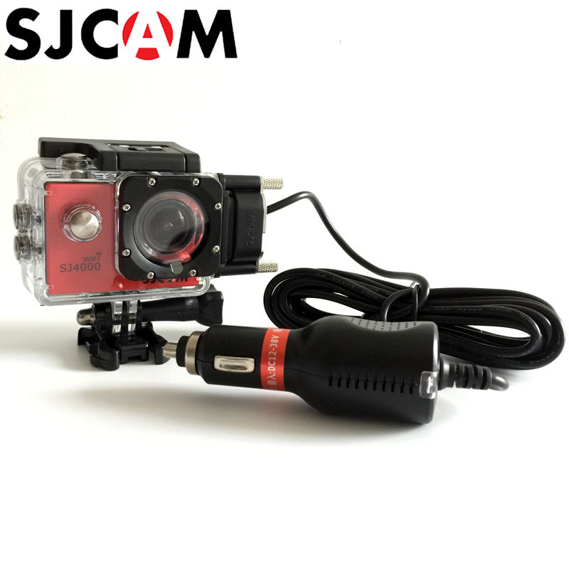 SJCAM Motorcycle Waterproof Case for SJ5000/ SJ4000 Series Cam Charging shell for sj cam SJ5000X Elite Action Camera Accessories