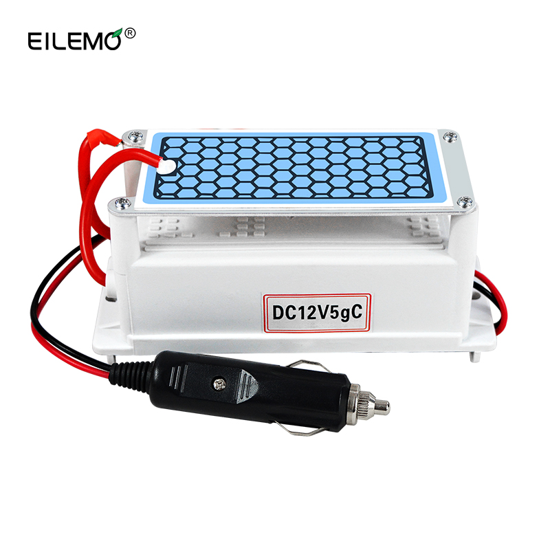EILEMO Air Purifier Ozone Generator 12v Car Ozonator 5g/3.5g Ozonizer Odor Eliminator Air Sterilizer Machine Household Goods цены