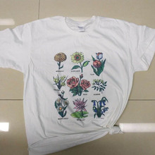 Plant These T-shirt Floral Graphic T Shirts Women Grunge Clothing Van Gogh Oil Printing Tumblr Tees