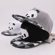 2019 caliente de dibujos animados sombreros 3D de Panda Animal patrón de  gorras de béisbol Snapback sombreros para niñas niños H.. 672434f2181